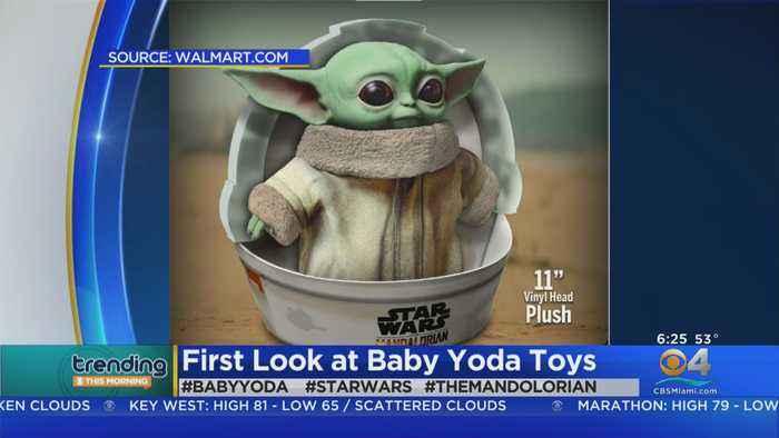 Trending: Baby Yoda Plush Toy