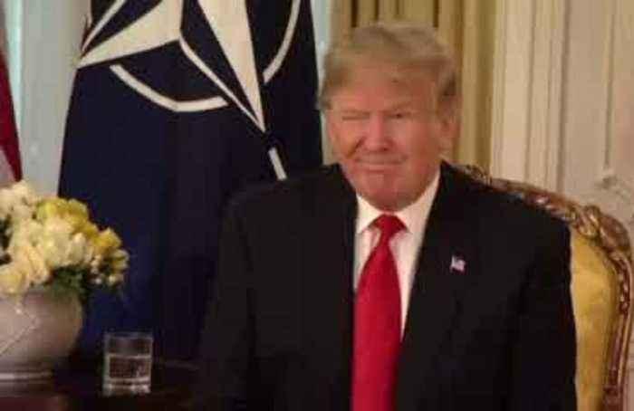 Trump blasts Macron for 'very nasty statement' on NATO