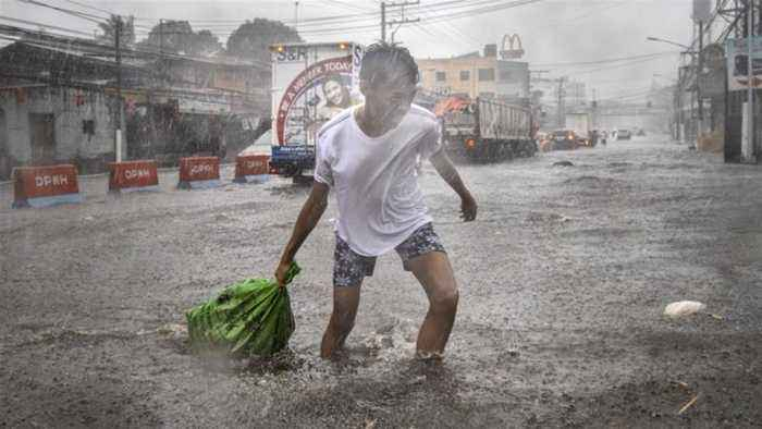 Typhoon Kammuri slams into Philippines, killing at least 2