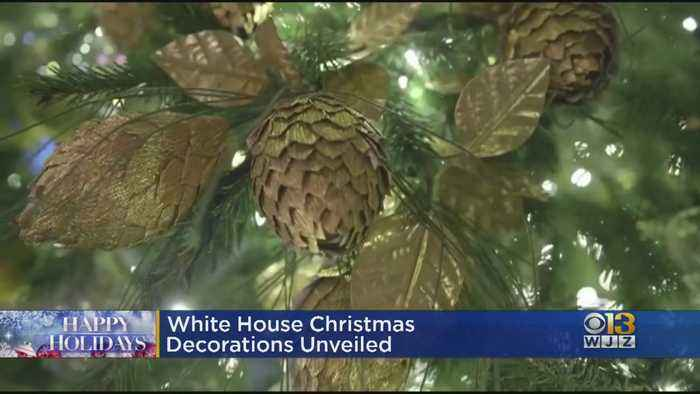 White House Reveals Christmas Decorations