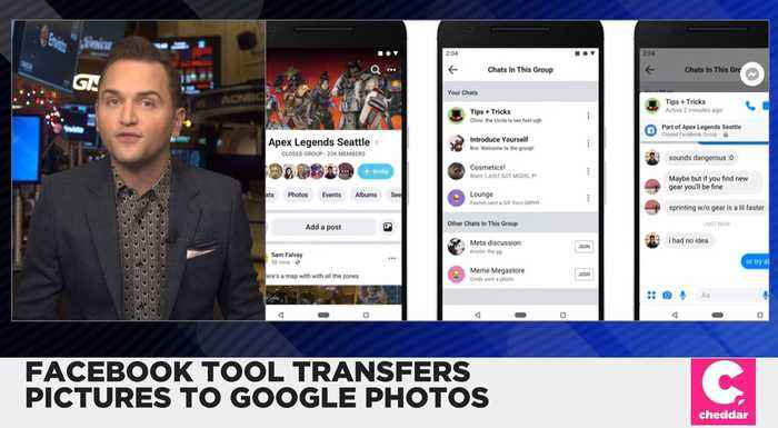 Facebook Users Can Now Transfer Photos to Google Pictures