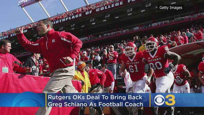 Rutgers OKs Deal To Bring Back Greg Schiano As Football Coach