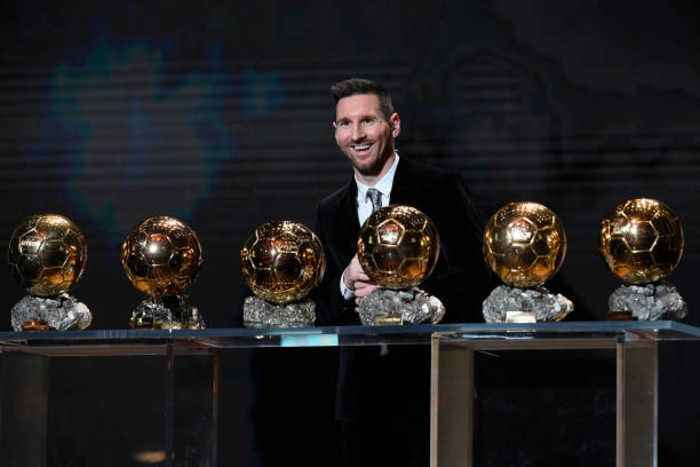 Lionel Messi and Megan Rapinoe Named 2019 Ballon d'Or Winners