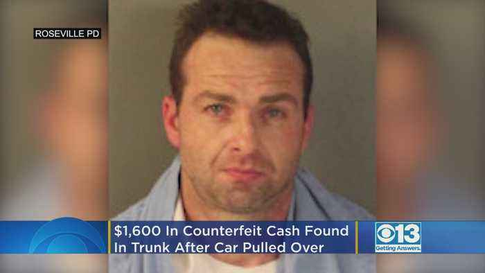 $1,600 In Counterfeit Cash Found In Trunk After Officers Pull Over Car In Roseville