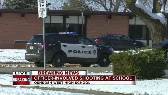 Update on officer-involved shooting at Oshkosh West High School