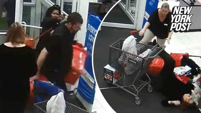 Shoplifting suspects pepper-spray employees before fleeing with goods