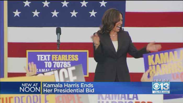 Kamala Harris Ends Presidential Campaign