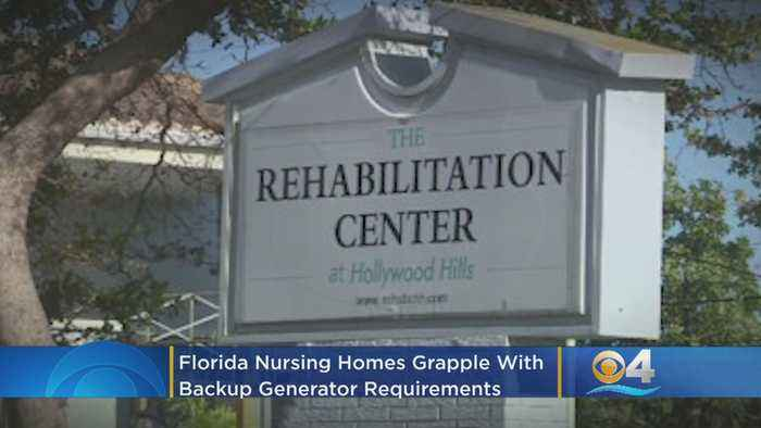 Florida Nursing Homes Grapple With Backup Generator Requirement