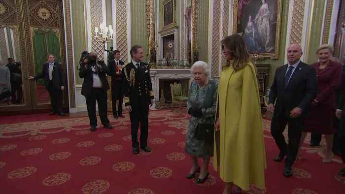 The Queen holds Nato reception at Buckingham Palace