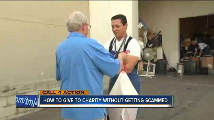 How to give to charity without getting scammed