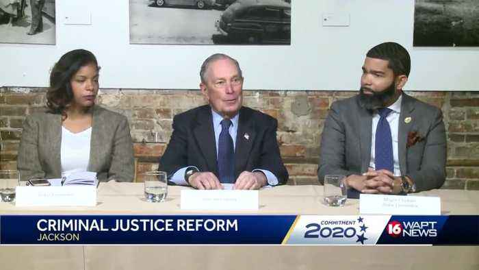 Bloomberg addresses criminal justice reform in Jackson