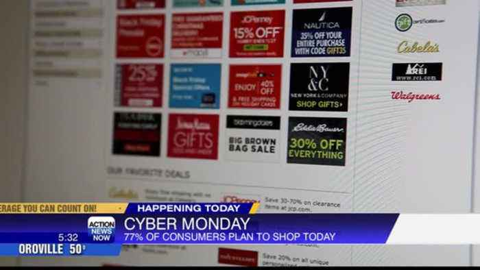 Millions of Americans expected to shop during 'Cyber Monday'