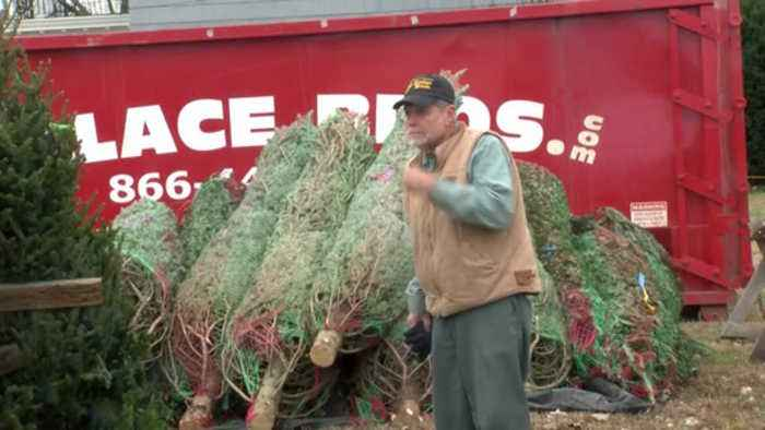 Local organization selling Christmas trees, money going to helping kids
