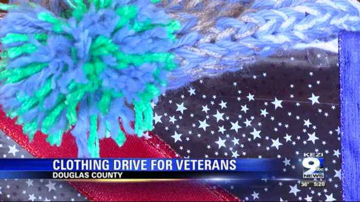 Myrtle Creek Elks Lodge collects winter clothing for veterans