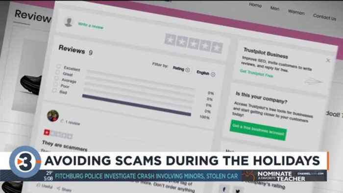 Avoiding scams during the holidays