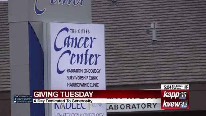 Giving Tuesday at Tri-Cities Cancer Center