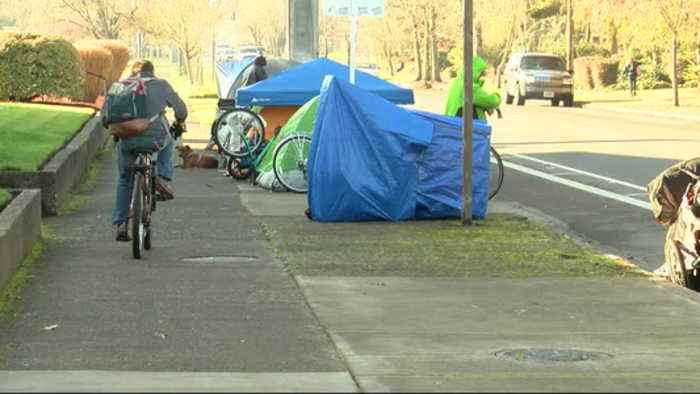 Transient camp springs up in Eugene neighborhood and residents are speaking out