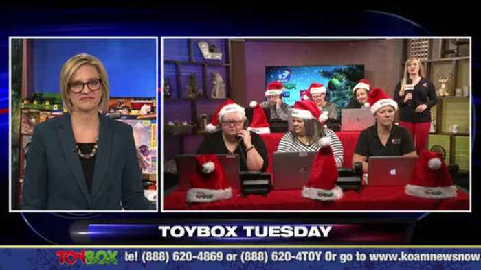 Toybox Tuesday at Noon (12/03/19)