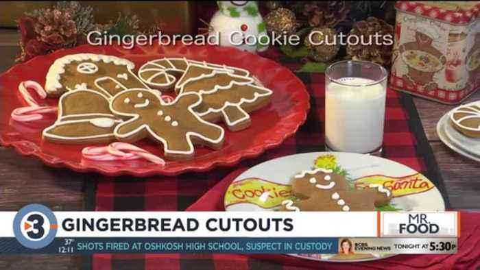 Mr. Food: Gingerbread Cutouts