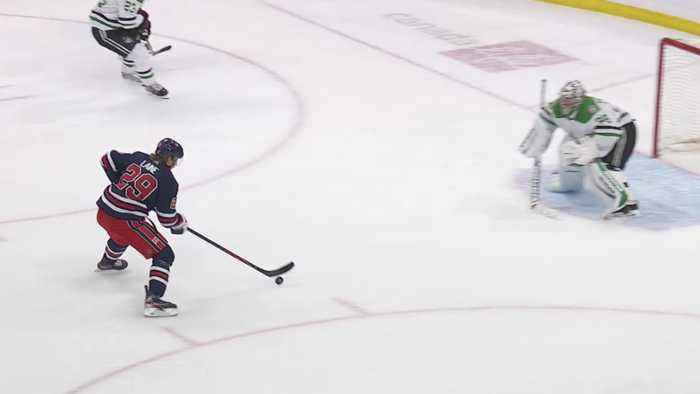 Patrik Laine scores on the odd-man rush