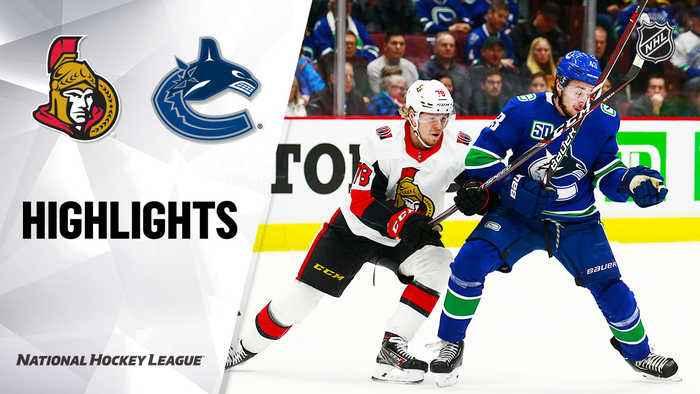 NHL Highlights | Senators @ Canucks 12/03/19