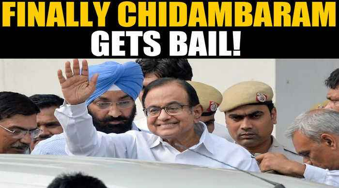 Chidambaram gets bail in the Inx Media Case, BJP says Cong celebrating corruption