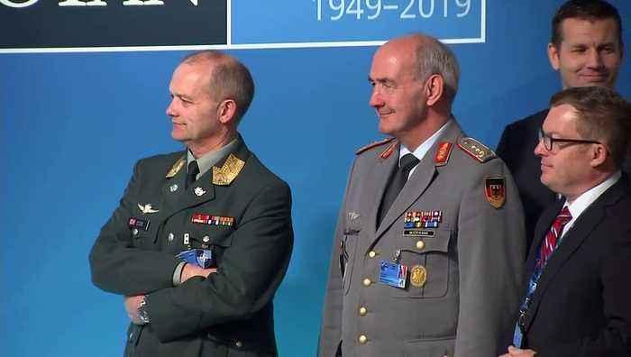 Trump keeps Johnson and Stoltenberg waiting at Nato meeting