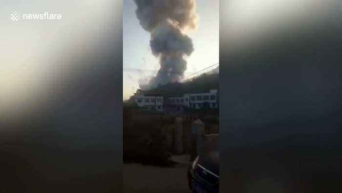 Seven killed in firework factory explosion in south China