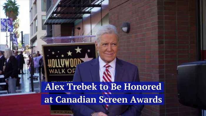 Alex Trebek to Be Honored at Canadian Screen Awards