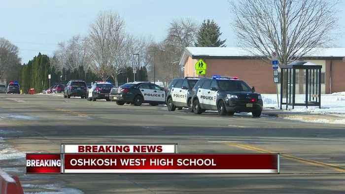 Officer stabbed, student shot at Oshkosh West High School