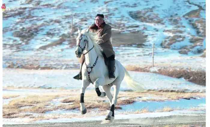 New horse ride signals more confrontational stance from North Korean leader
