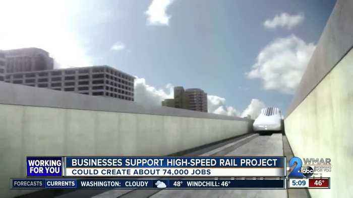 Business in support of high-speed rail project
