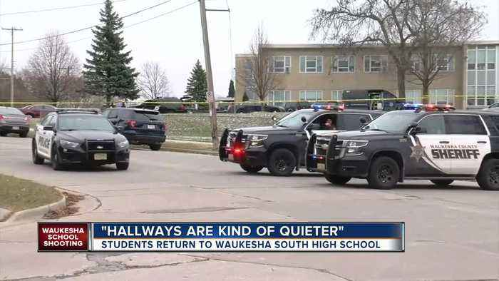 Classes resume at Waukesha South one day after shooting