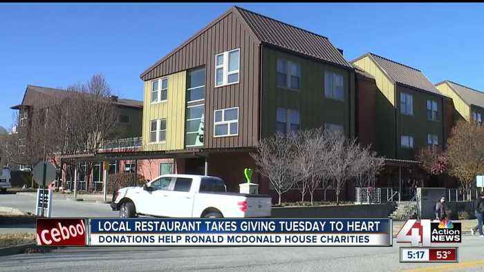 Restaurant teams up with KC Ronald McDonald House for Giving Tuesday