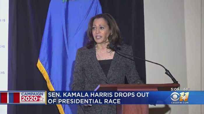 Sen. Kamala Harris Ends Bid For Democratic Nomination For President