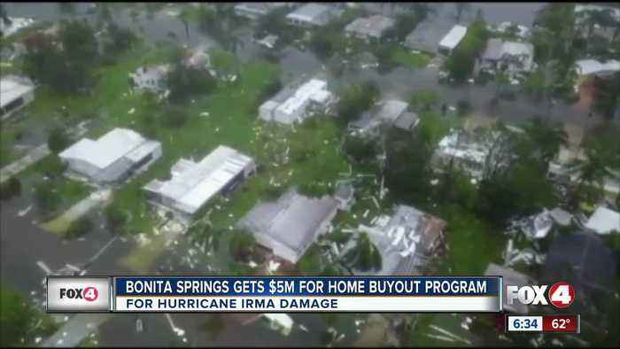 Bonita Springs will recieve $5 Million dollars for Irma damage