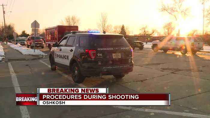 How students and staff followed procedure during shooting