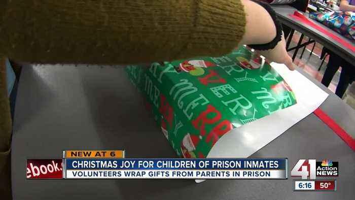 Hallmark employees reach milestone helping Salvation Army's Prison Toy Lift