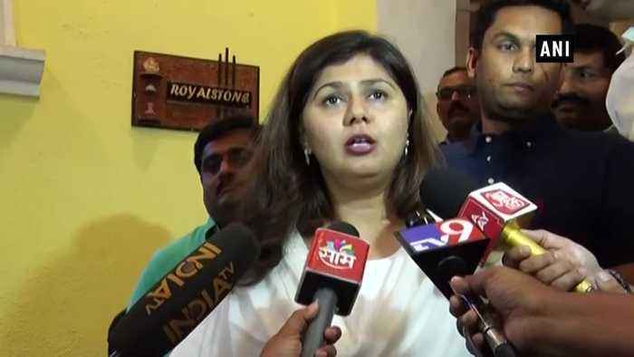 Have worked for BJP, distressed with allegations Pankaja Munde on joining Shiv Sena