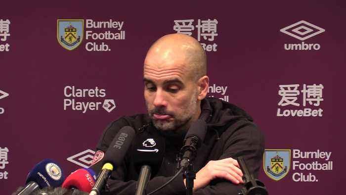 Guardiola scotches title talk