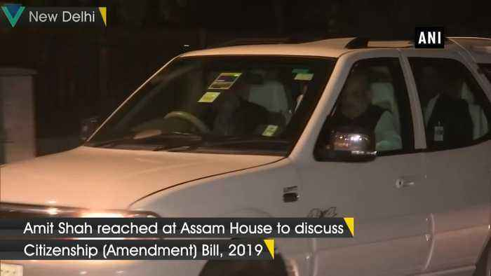 Amit Shah meets CMs of Manipur, Assam, Nagaland and others to discuss Citizenship Amendment Bill