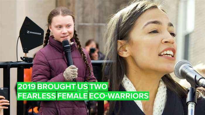 2019's Role Models: Greta Thunberg and Alexandria Ocasio-Cortez