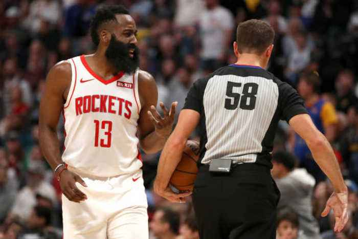 Rockets Want NBA to Act on Blown James Harden Dunk
