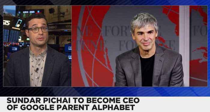Sundar Pichai to Become New Alphabet CEO