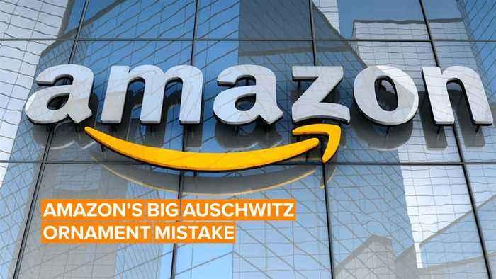 Amazon's Auschwitz-themed Xmas products got back-lashed hard