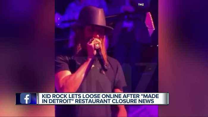 Kid Rock responds after Made in Detroit restaurant closing