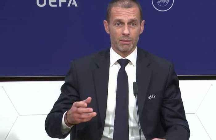 UEFA president criticises VAR use, says football needs uncertainty