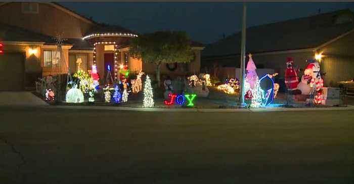 Holiday decorations Las Vegas