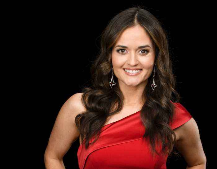 Danica McKellar Chats About Working In The Hallmark Movie, 'Christmas at Dollywood'