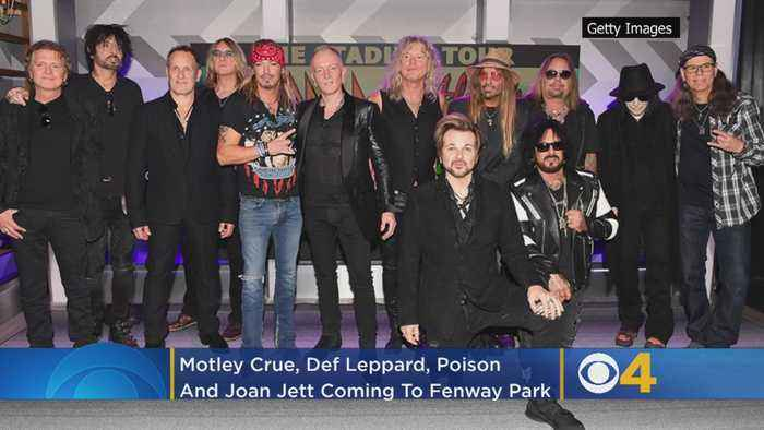 Motley Crue, Def Leppard, Poison and Joan Jett To Play Fenway Park Concert Next Summer
